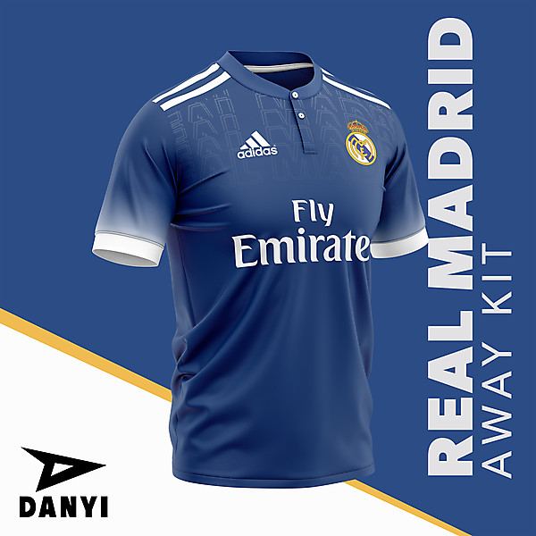 Real Madrid Away Kit By:Danyi