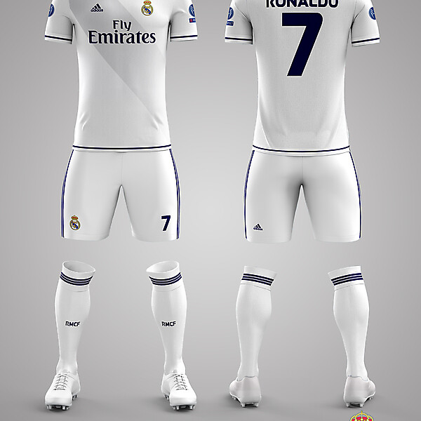 Real Madrid CF Home Kit