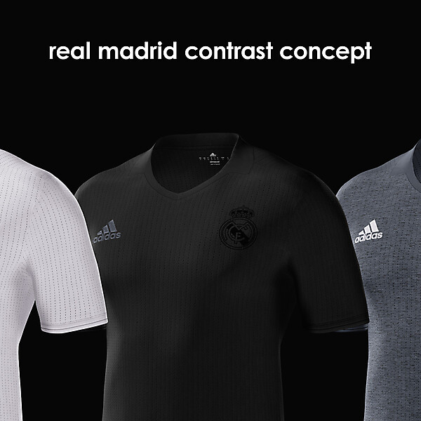 real madrid contrast concept
