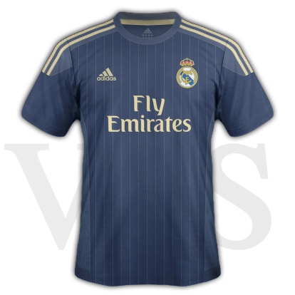 Real Madrid fantasy Away kit with Adidas