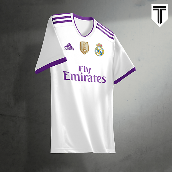 Real Madrid Home Concept Kit