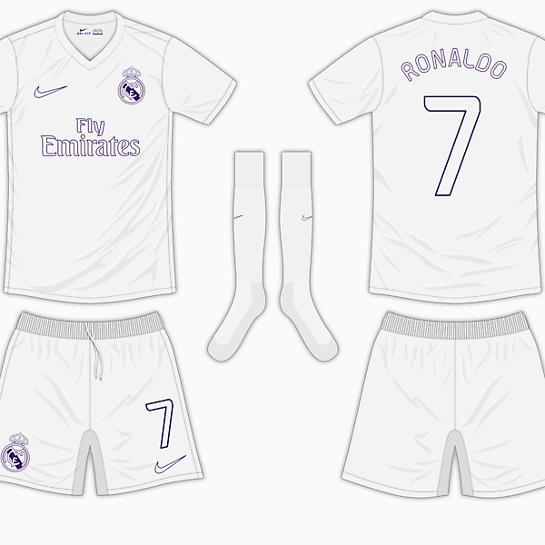 Real Madrid Home Kit - Nike