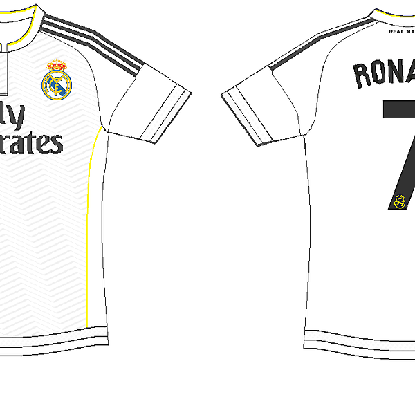 Real Madrid home kit 2015-2016