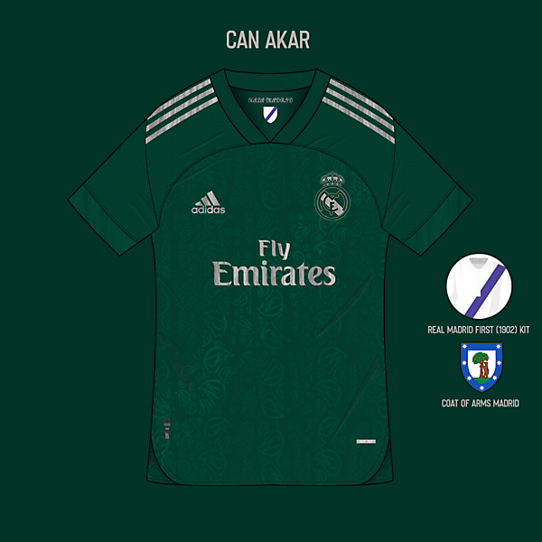 Real Madrid Third Kit x Adidas