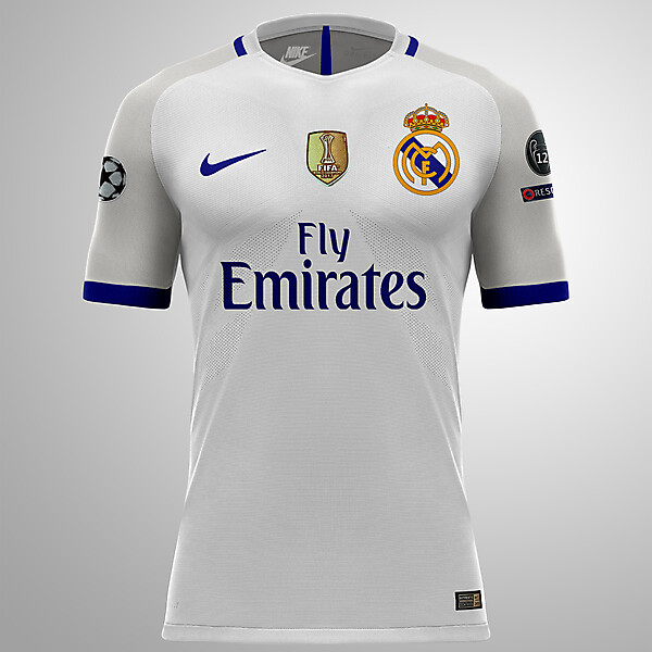 Real Madrid x Nike Design