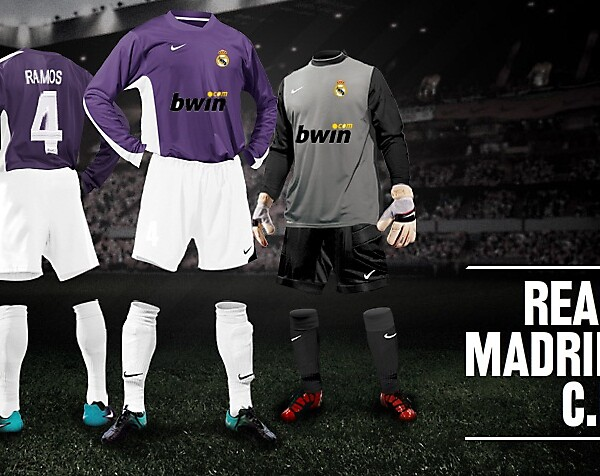 Real Madrid Nike kit builder