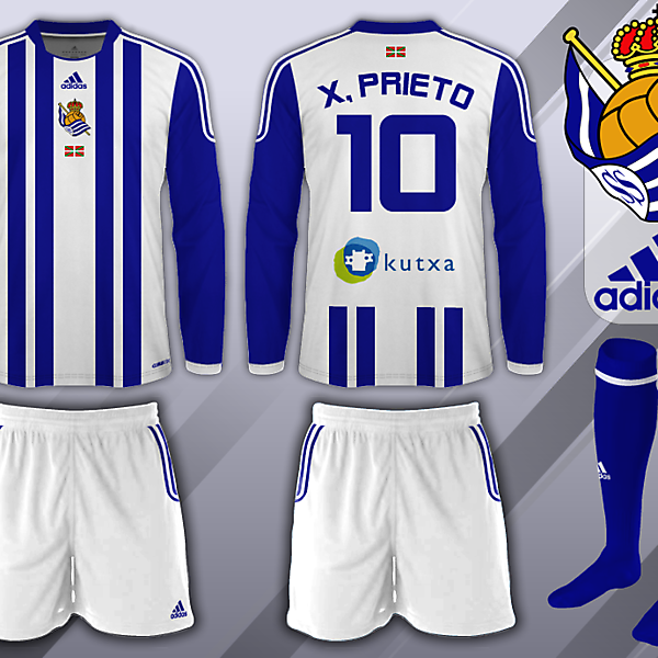 Real Sociedad Fantasy Home Kit