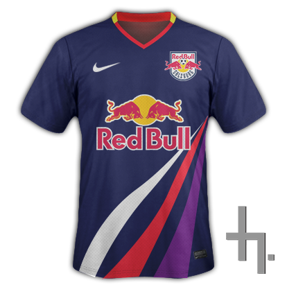 Red Bull Salzburg Away Kit.