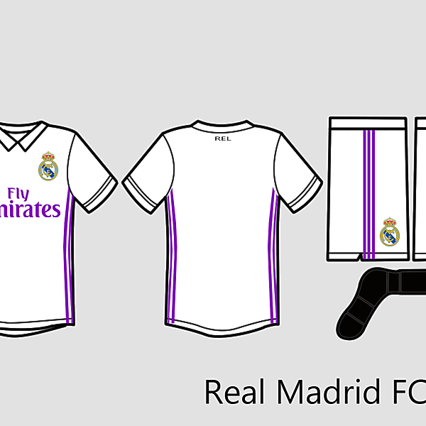 Rel Madrid Kit 2016