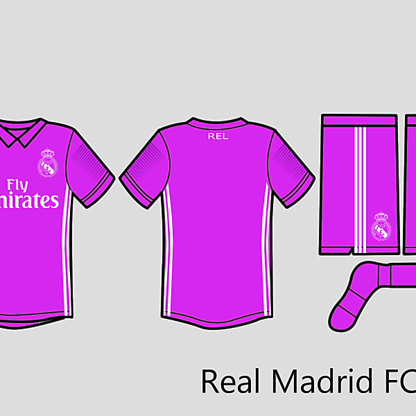 Rel Madrid Kit Away 2016