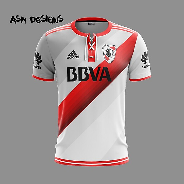River Plate 2019 Adidas 2019 Home Kit