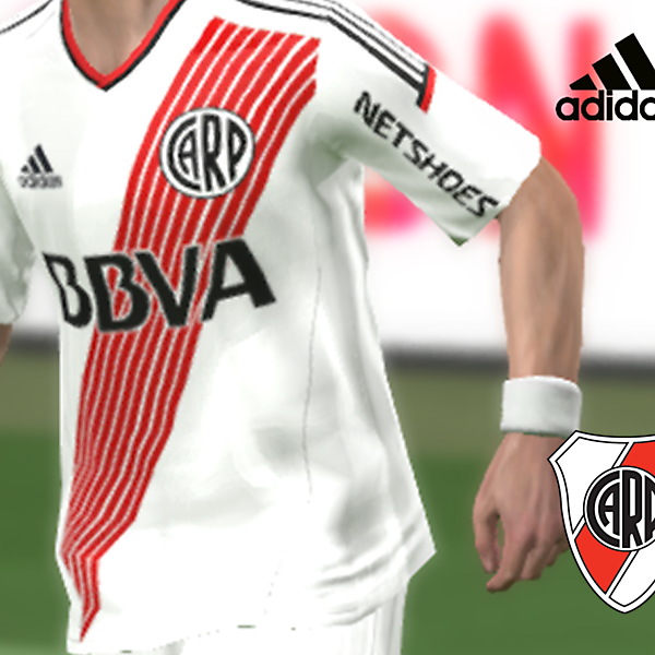 RIVER PLATE adidas kit home