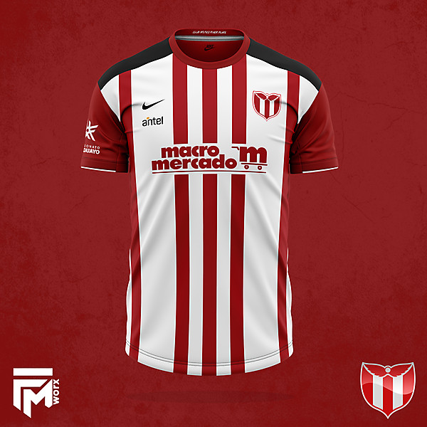 River Plate de Montevideo 2020/21 home concept