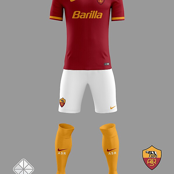 AS Roma 2018/2019 Home Jersey