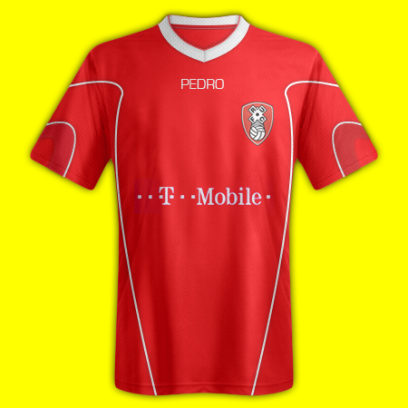 Rotherham United Pedro Home