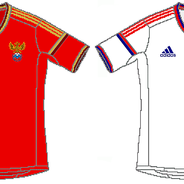 Russia Adidas World Cup Kits