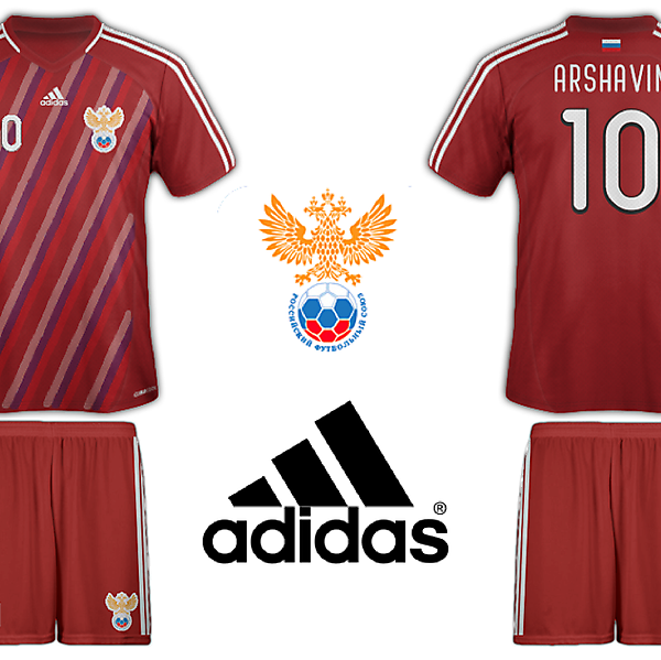 Russia Adidas Home Kit