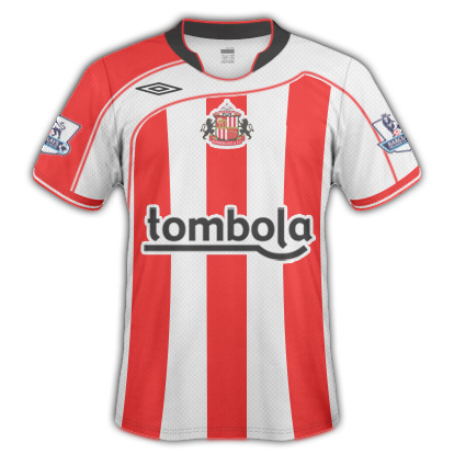 Sunderland AFC 2010/11 fantasy home top