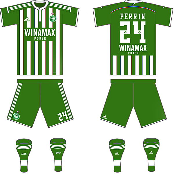 Saint-Etienne Home Kit