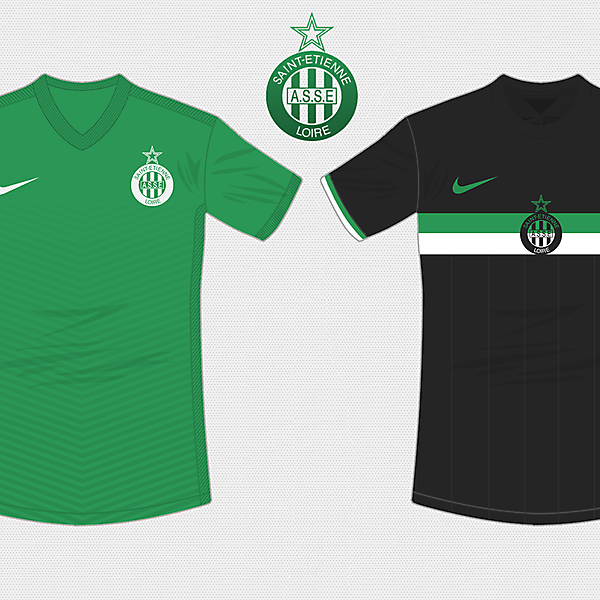Saint Etienne 2015 - 2016 / With Nike