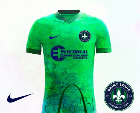 Saint Louis FC Home kit