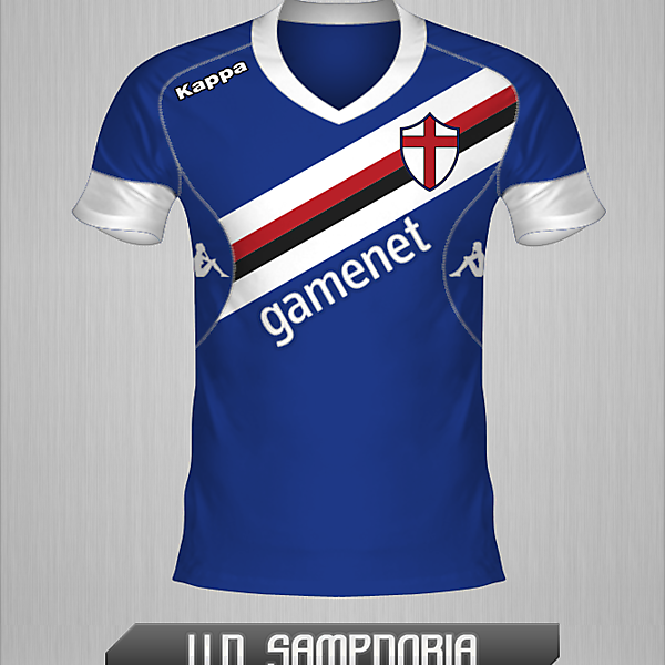 Sampdoria, Home Shirt