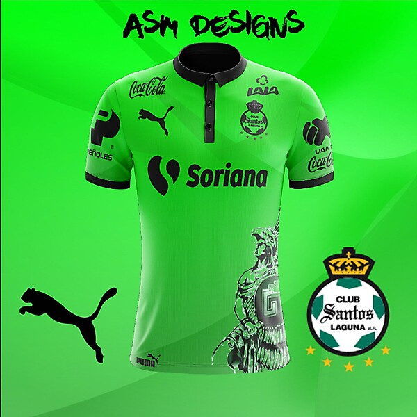 Santos Laguna 2018 Puma Alternate kit
