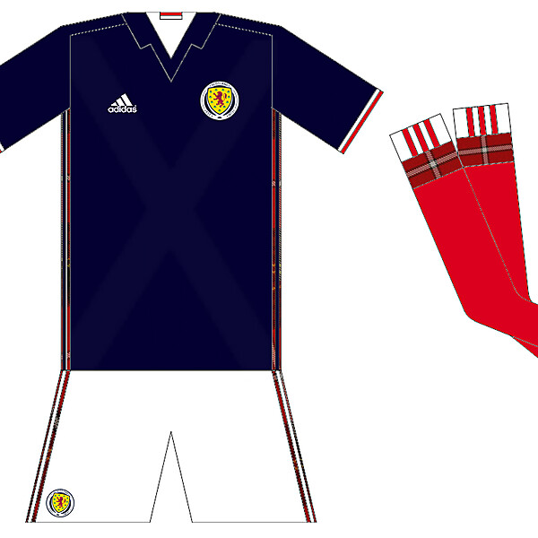 Scotland 2016-17 Home Idea