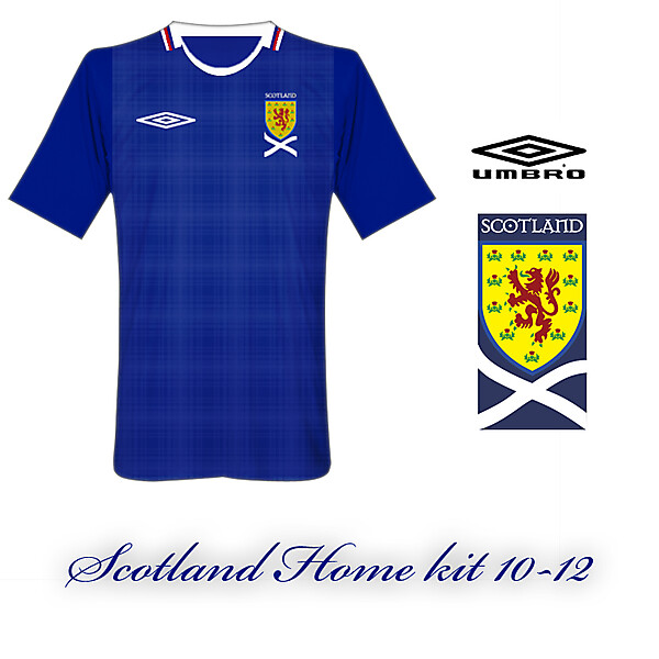 Scotland Home kit 10-12