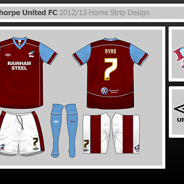 Scunthorpe United Home Design