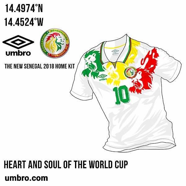 Senegal Home - Umbro