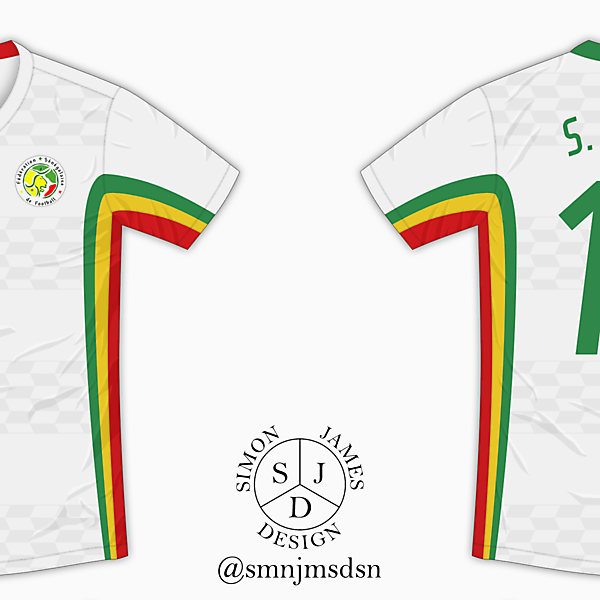 Senegal Home Shirt - Le Coq Sportif