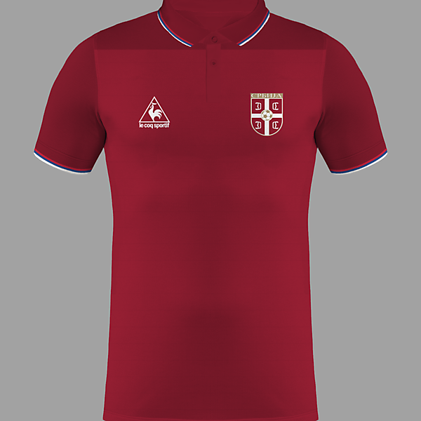 Serbia Home Kit / Le Coq Sportif