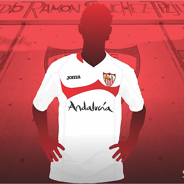 Sevilla FC S.A.D. Joma shirt re-styling