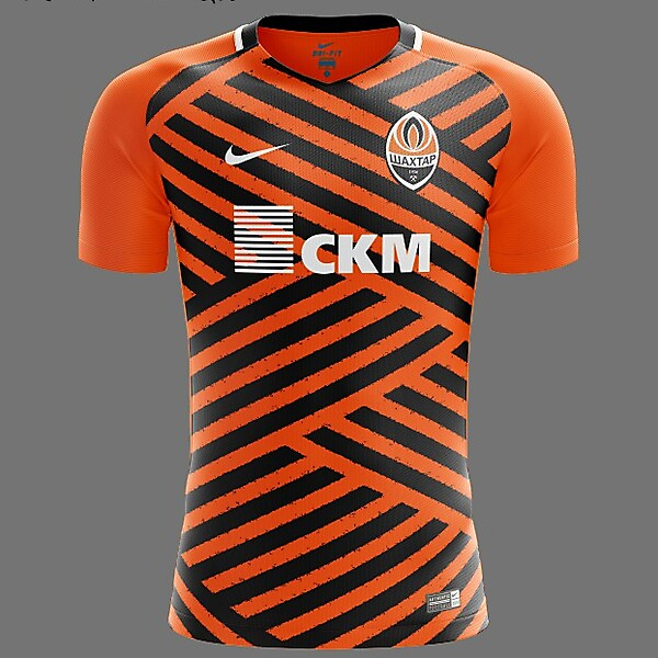 Shakhtar Donetsk Nike 2018 Home Kit