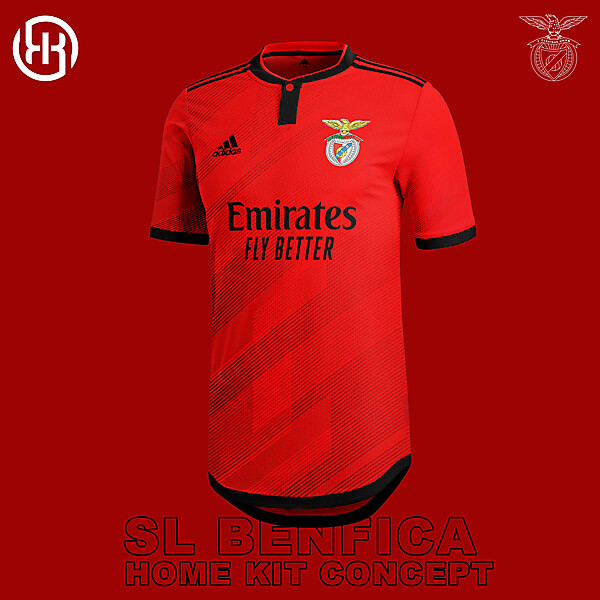 SL Benfica | Home kit concept