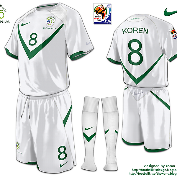 Slovenia World Cup 2010 fantasy home