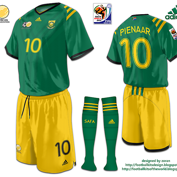 South Africa World Cup 2010 fantasy away