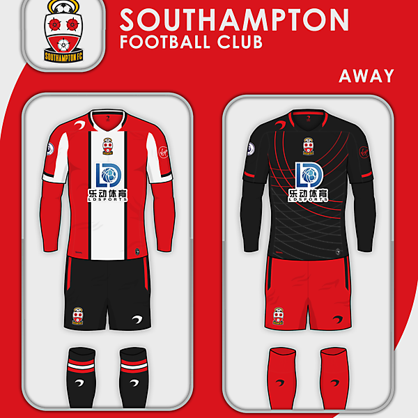 Southampton FC | Home and Away kits