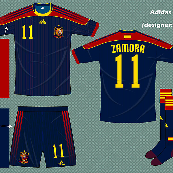 Spain adidas fantasy kit 3rd