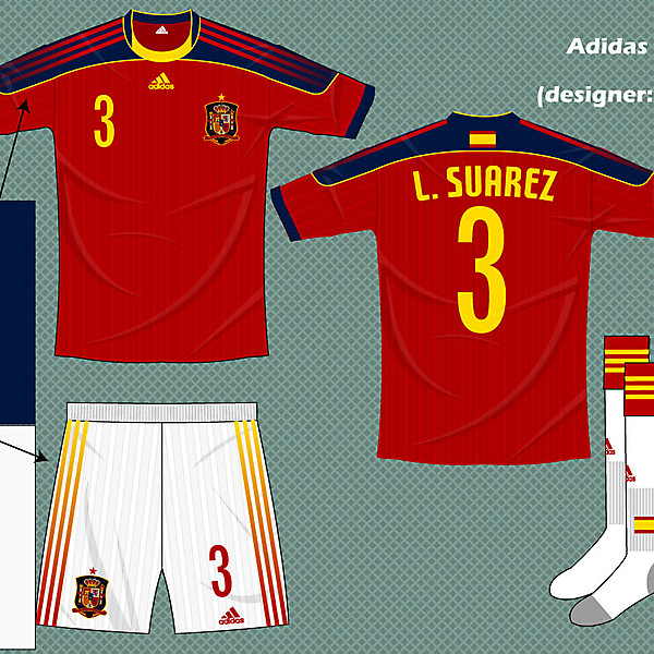 Spain adidas fantasy kit home (alternate)