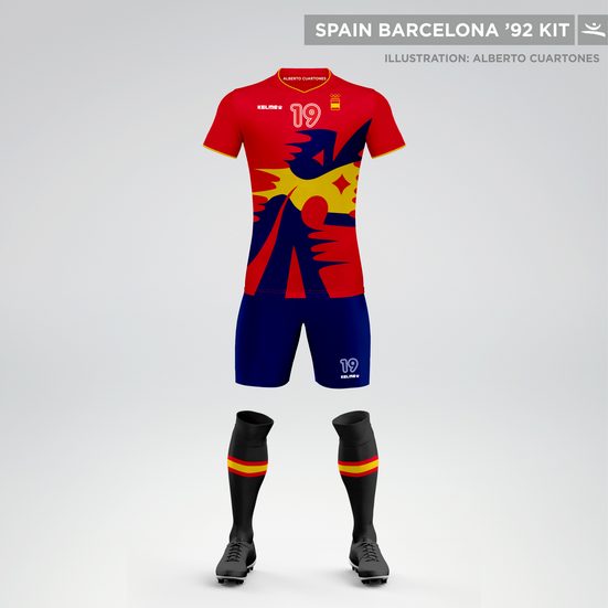 Spain Olympic Games Barcelona '92 Kit