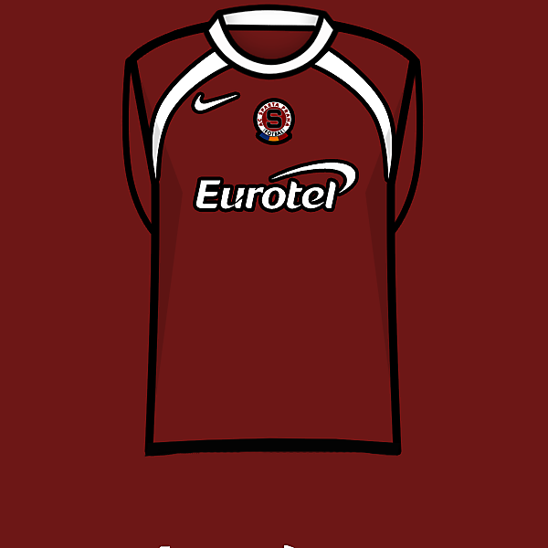 Sparta Prague home kit 05-07
