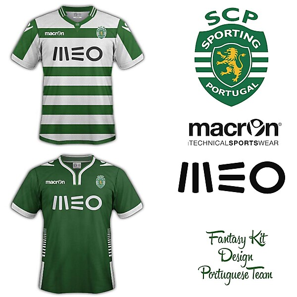 Sporting Clube de Portugal Fantasy Home and Away 2014/2015