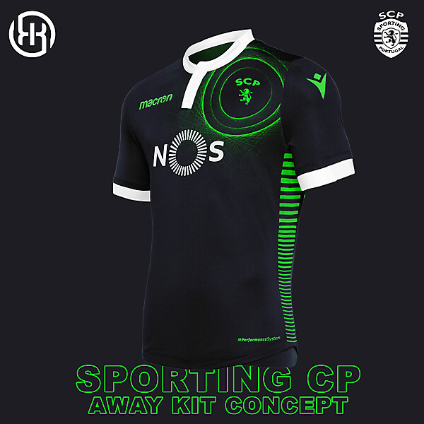 Sporting CP | Away kit concept