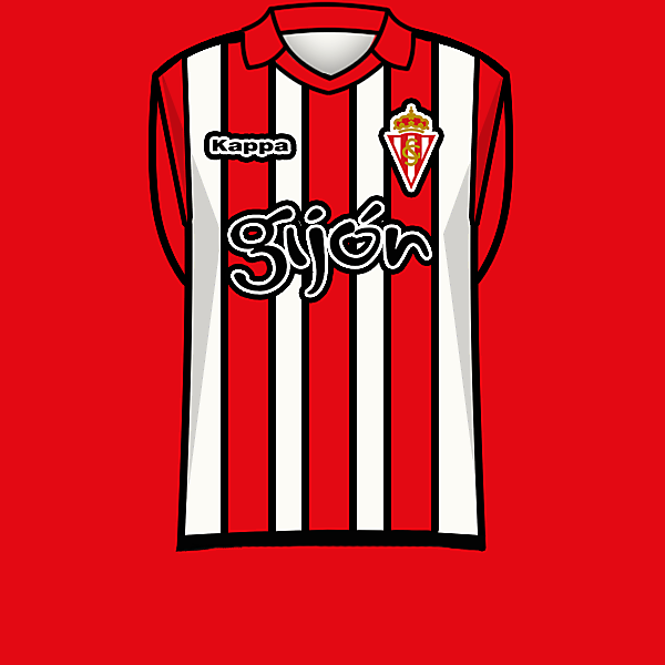 Sporting de Gijon 13-14 home<br />kit