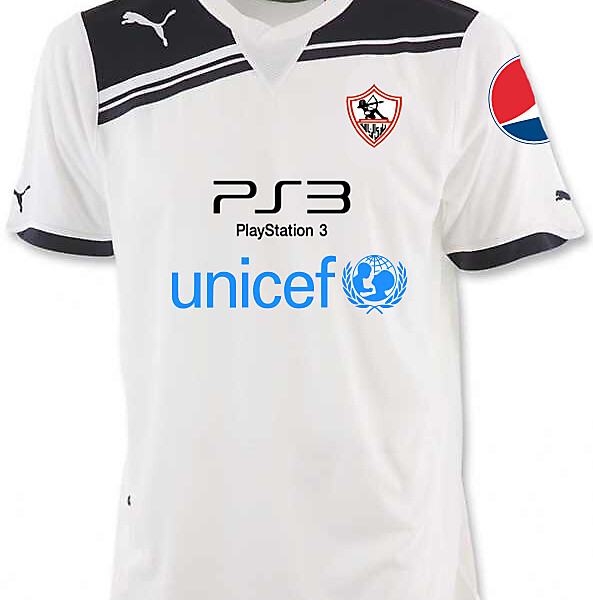 zamalek s.c. home kit