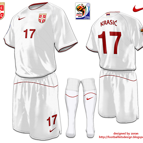 Serbia World Cup away fantasy