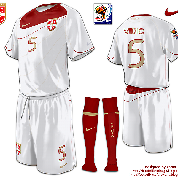 Srbija World Cup 2010 fantasy away