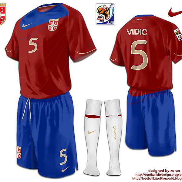 Srbija World Cup 2010 fantasy home
